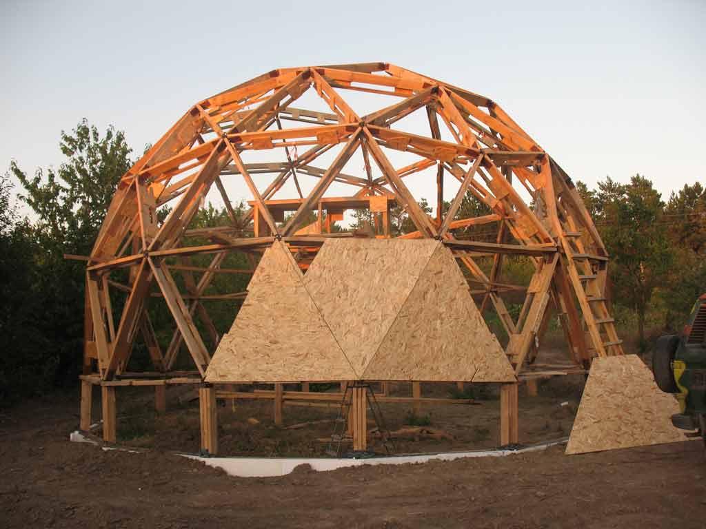 круглые дома из дерева фото проекты и цены